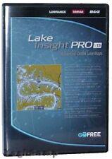 Lowrance Lake Insight PRO v15 Lower 48 US States Preprogrammed SD Memory Card