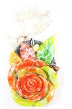 Women Fashion Jewelry roses Necklace (14) Free USA SHIPPING.Handmade item.