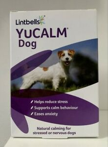 Lintbells YuCALM DOG Calming Supplement for Stress & Anxiety 120 Tablets