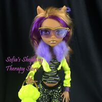 Monster High Justice Exclusi Swim Class Clawdeen Wolf Doll Restyled Fashion Pack