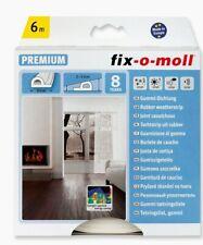 Fix-o-moll P-profile rubber weatherstrip White 6m x 9mm 210801 Windows & Doors