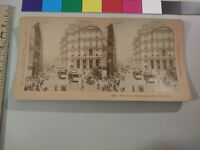 Broadway Post Office Trolley Kilburn New York City Stereoview Photo cdii NYC