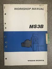 volvo md40 owners manual