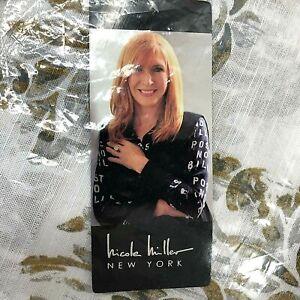 "Nicole Miller Curtain Panels x 2 TABITHA HONEY GOLD Light Filtering 50 x 84"" NEW"