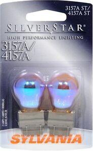 Sylvania Silverstar 3157AST 4157AST BP Amber Brake Light Blister Pack- Pair