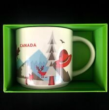 """Starbucks Canada """"You Are Here"""" Series 2018 Collection Coffee Mug 14 fl oz NEW"""