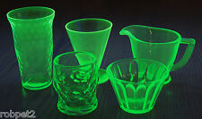 Green Vaseline Uranium 5-piece assortment