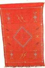 kilim rug -Berber kilim-Moroccan kilim rug-Moroccan carpet-Moroccan 55in x 40in