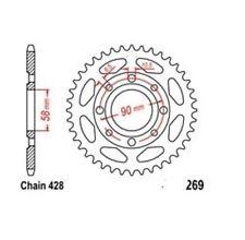 TMP Pignon Sortie Boite Arrière 45 Dents (Chaîne520) DAELIM VT 125 Evoluti 98-02