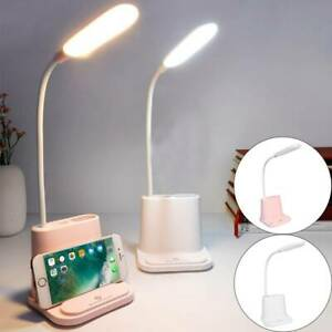 4 in 1 Reading LED Light USB Rechargeable Touch Dimmable Bed Desk Table Lamp