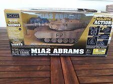 Tanque teledirigido, MIA2 ABRAMS, escala:1/24, color: marron claro.