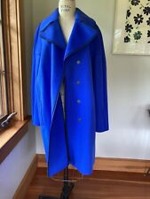 Tahari Cobalt Blue Wool Coat  LARGE