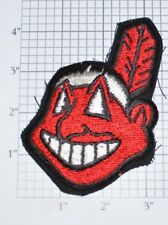 Cleveland Indians Wahoo Logo Vintage Iron-on Embroidered Patch Souvenir Emblem