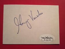Gary Varsho Cut Index Card Autograph   JSA  Signed  Auto