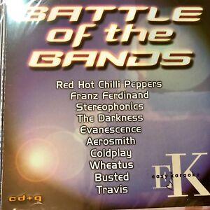 Easy Karoake Battle Of Bands CDG CD+G RRP £14.99