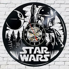 Star Wars_Exclusive wall clock made of vinyl record_GIFT