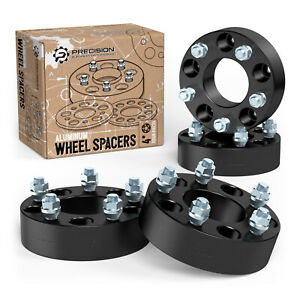 "4pc 2"" 5x114.3 Black Wheel Spacers 