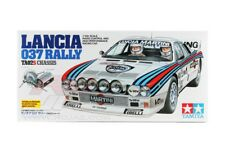 Tamiya 58654 1/10 Scale Ep Rc Car Kit Ta02-S Chassis Lancia 037 Rally w/Esc