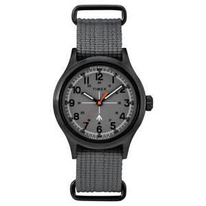 Timex Men's Watch Todd Snyder Military Grey Dial Nylon Strap TW2R78700JR