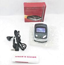 New FM Wireless Audio Receiver/Scan Radio + Earbud Headphone (Pocket Compact)