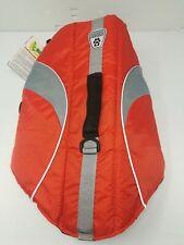NEW NWT Canine Friendly Dog Life Jacket Vest Size Med Boating Water Orange Pet