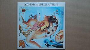 Dire Straits - Alchemy - Live 2LP 1984 VERY 11 818 243-1 Vertigo 1st Pressing