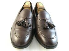 """Allen Edmonds """"PERUGIA"""" Italian Tassel Loafers 10.5 D Brown (81)"""