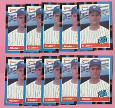 AL LEITER 1988 DONRUSS #43 ROOKIE LOT OF 10  NM-MINT