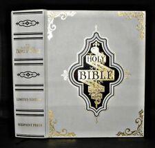 LARGE  Family Holy  Bible - Scott & Henry - 2007 Limited Ed, John Ed ILLUSTRATED