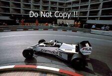 Riccardo Patrese Brabham BT52 Monaco Grand Prix 1983 Photograph 2