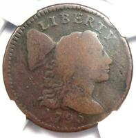 1795 Liberty Cap Large Cent 1C Coin S-76a R5 - NGC VG Detail - Rarity-5 Variety!