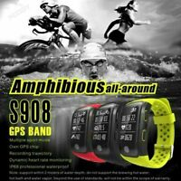 Waterproof Smart Watch GPS Sport Bracelet Heart Rate for iPhone Android Samsung