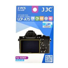 JJC LCP-A7S Camera LCD Screen Protector Film Cover for Sony a7, a7S, A7R