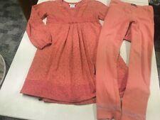 NAARTJIE KIDS OUTFIT  FUNKY SWING DRESS & LEGGINGS  SET  GIRLS   XL    7