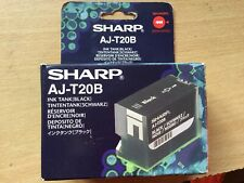 GENUINE AUTHENTIC SHARP AJ-T20B BLACK INK CARTRIDGE
