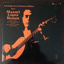 MANUEL LOPEZ RAMOS / ANTOLOGIA DE LA GUITARRA CLASICA Vol. 2 Gatefold Vinyl LP