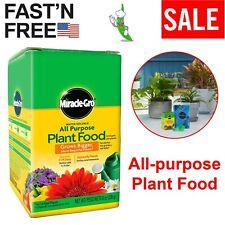 Miracle Gro All-purpose Plant Food Houseplant Grow Flower Fertilizer Garden 8Oz
