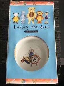 Royal Doulton Harvey Bear Baby Set Rare