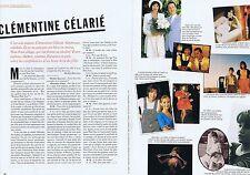 COUPURE DE PRESSE CLIPPING 1996 CLEMENTINE CELARIE (3 pages)