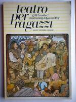 Teatro per ragazziGrosher Libroteatro bambini illustrato Gianni Peg come nuovo