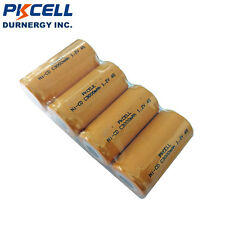 4 X C Size 26500 Ni-Cd Rechargeable Batteries 3000mAh 1.2V Battery Flat Top