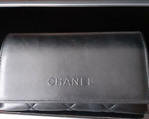 Soft Leather Chanel Clutch Bag/purse/glasses Case BRAND NEW