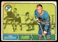 1968-69 Topps Ron Schock . #118
