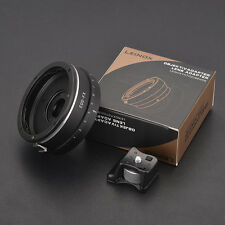 LEINOX EOS-FX Canon EF Mount Lens to Fujifilm X-Pro1 Adapter Adjustable Aperture