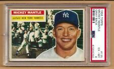 1956 Topps #135 MICKEY MANTLE (Yankees) PSA 6 (centered)