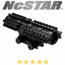 NcSTAR Tactical 223 5.56 4X32 Tri-Rail System Mount Scope Rifle P4 Sniper Weaver