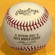 Rawlings 2013 Official World Series MLB Game Baseball Boston Red Sox w/box  4