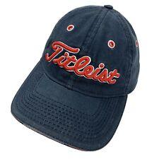 Titleist Golf Blue Red New Era Ball Cap Hat Adjustable Baseball