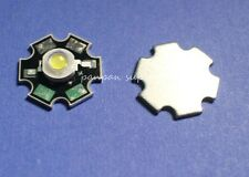 10PCS 1W High Power Cold White LED Light10000-12000k Emitter with 20mm pcb
