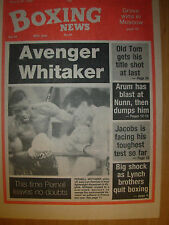 BOXING NEWS AUGUST 25 1989 PERNELL WHITAKER v JOSE LUIS RAMIREZ